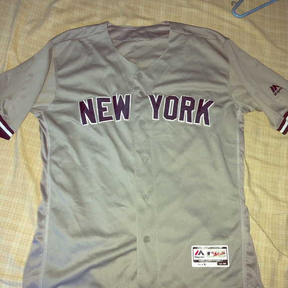 low priced 3e815 5e85f Grey Aaron Judge Jersey